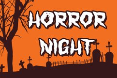 Monster Nest - Halloween Display Font Product Image 2