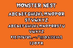 Monster Nest - Halloween Display Font Product Image 6