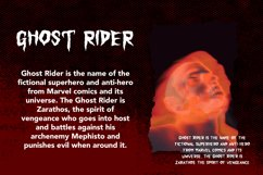 Monster Scream - Gothic Display Font Product Image 6
