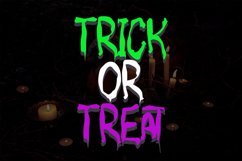 MONSTERIA - Halloween Font Product Image 3