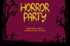 MONSTERIA - Halloween Font Product Image 6