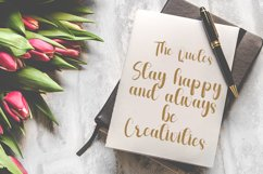 Monthing - Modern Script Calligraphy Font Product Image 6