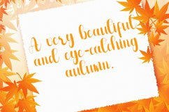 Monthing - Modern Script Calligraphy Font Product Image 5