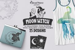 Best Sellers Witch Bundle SVG | Halloween Stickers Bundle Product Image 6