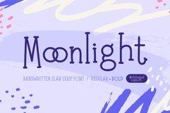 Moonlight   Handwritten Slab Serif Font Product Image 1
