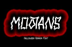 MOOTANS - Halloween Font Product Image 1