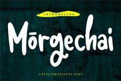 Morgechai - A Stylish Display Font Product Image 1
