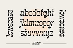 Morgy Psychedelic display font Product Image 5