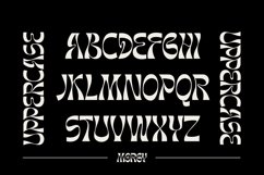 Morgy Psychedelic display font Product Image 6