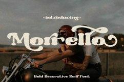 Morrello - Bold Retro Decorative Serif Font Product Image 1