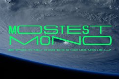 Mostest Mono Product Image 1