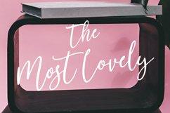 Mostlovely Lovely Script Font Product Image 2