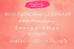Mostlovely Lovely Script Font Product Image 5