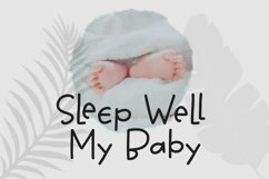 Web Font Mother Care - Sweet Handrawn Sans Font Product Image 3