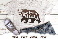 Mountain Bear SVG Cut Files Product Image 5