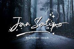 Jan Satipo - Brush Font Product Image 1
