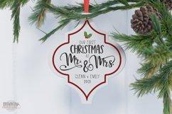 Arabesque Tile Christmas Ornament SVG Bundle Product Image 6