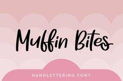 Web Font Muffin Bites - Handlettering Font Product Image 1