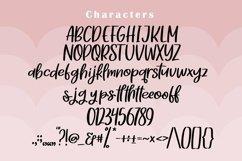 Web Font Muffin Bites - Handlettering Font Product Image 5