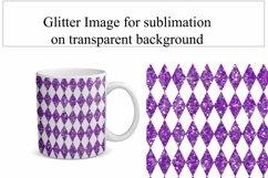 Glitter Diamond Sublimation Mug Wrap Bundle 5 Designs Product Image 2