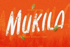 Web Font Mukila Font Product Image 1