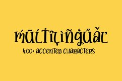 Buttery - a quirky hand drawn serif font! Product Image 5