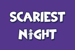 Mummy Maze - Halloween Display Font Product Image 3