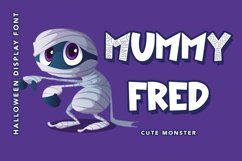 Mummy Maze - Halloween Display Font Product Image 4