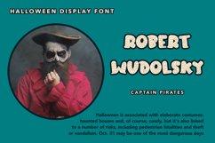 Mummy Sleep - Halloween Display Font Product Image 4