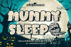 Mummy Sleep - Halloween Display Font Product Image 1