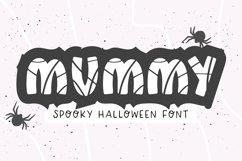 MUMMY Halloween Bandage Font Product Image 1