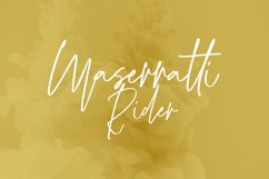 Mustardmoster Script Font Product Image 3