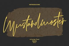 Mustardmoster Script Font Product Image 1