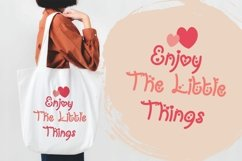 My Love Letter - Quirky Monoline Love Font Product Image 4