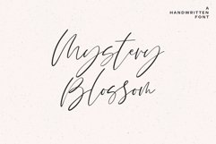 Mystery Blossom Script Product Image 1