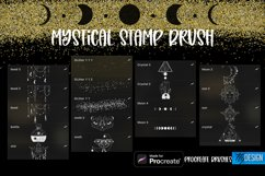 Mystical Procreate Brush Stamp. Magic Boho Witch Stamps. Product Image 5