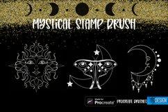 Mystical Procreate Brush Stamp. Magic Boho Witch Stamps. Product Image 3