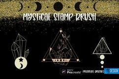 Mystical Procreate Brush Stamp. Magic Boho Witch Stamps. Product Image 2