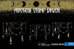 Mystical Procreate Brush Stamp. Magic Boho Witch Stamps. Product Image 4