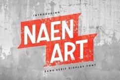 Web Font Naen Art Font Product Image 1