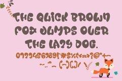 Nala Junior - Chubby Display Font Product Image 4