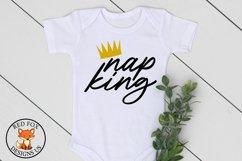 Nap King SVG | Newborn SVG | Toddler Svg | SVG For Cricut Product Image 1