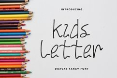 Kids Letter Product Image 1