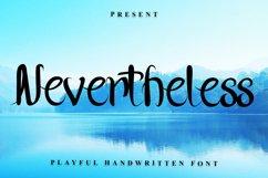 Nevertheless - Handwritten Font Product Image 1