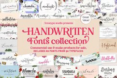 HANDWRITTEN FONTS COLLECTION Product Image 1