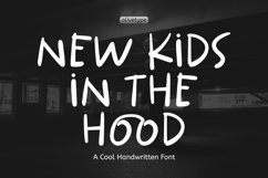 New Kids In The Hood - A Cool Handwritten Font. Product Image 1