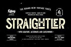 Straightler - Oldpress Font! Product Image 1