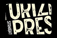 Straightler - Oldpress Font! Product Image 3