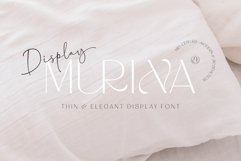 MURINA DISPLAY FONTS Product Image 1