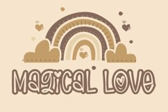 Magical Love - Cute Handwritten Font Product Image 1